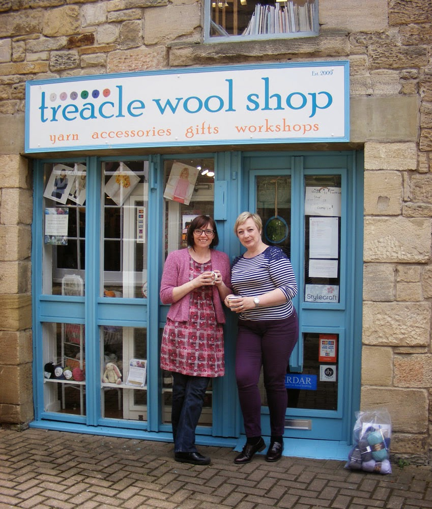 Leading Morpeth yarn shop Treacle Wool Shop