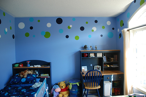 Home interior design and interior nuance baby boys bedroom ideas - Childrens bedroom wall painting ideas ...
