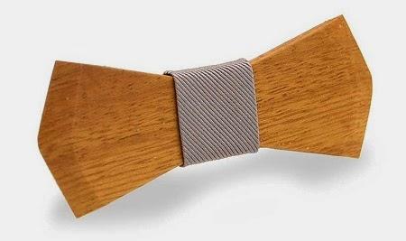 Corbatas de Madera Reciclada