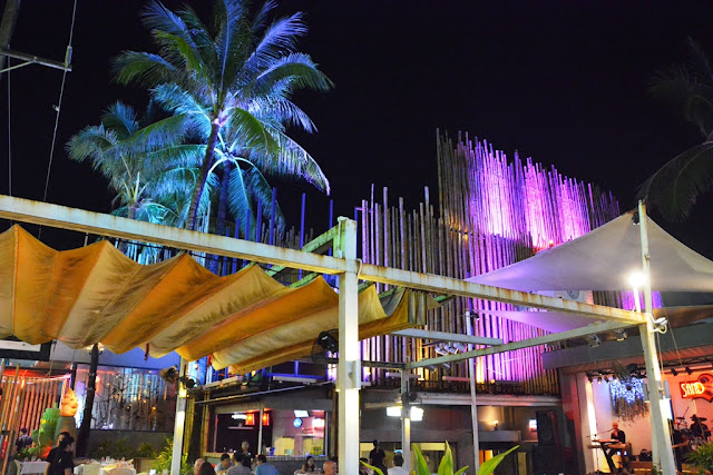 Patong Beach by night