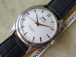 HMT JANATA WHITE DIAL - MANUAL WINDING