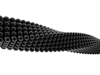 3D Reflecting Black Balls Abstrach HD Desktop Wallpaper