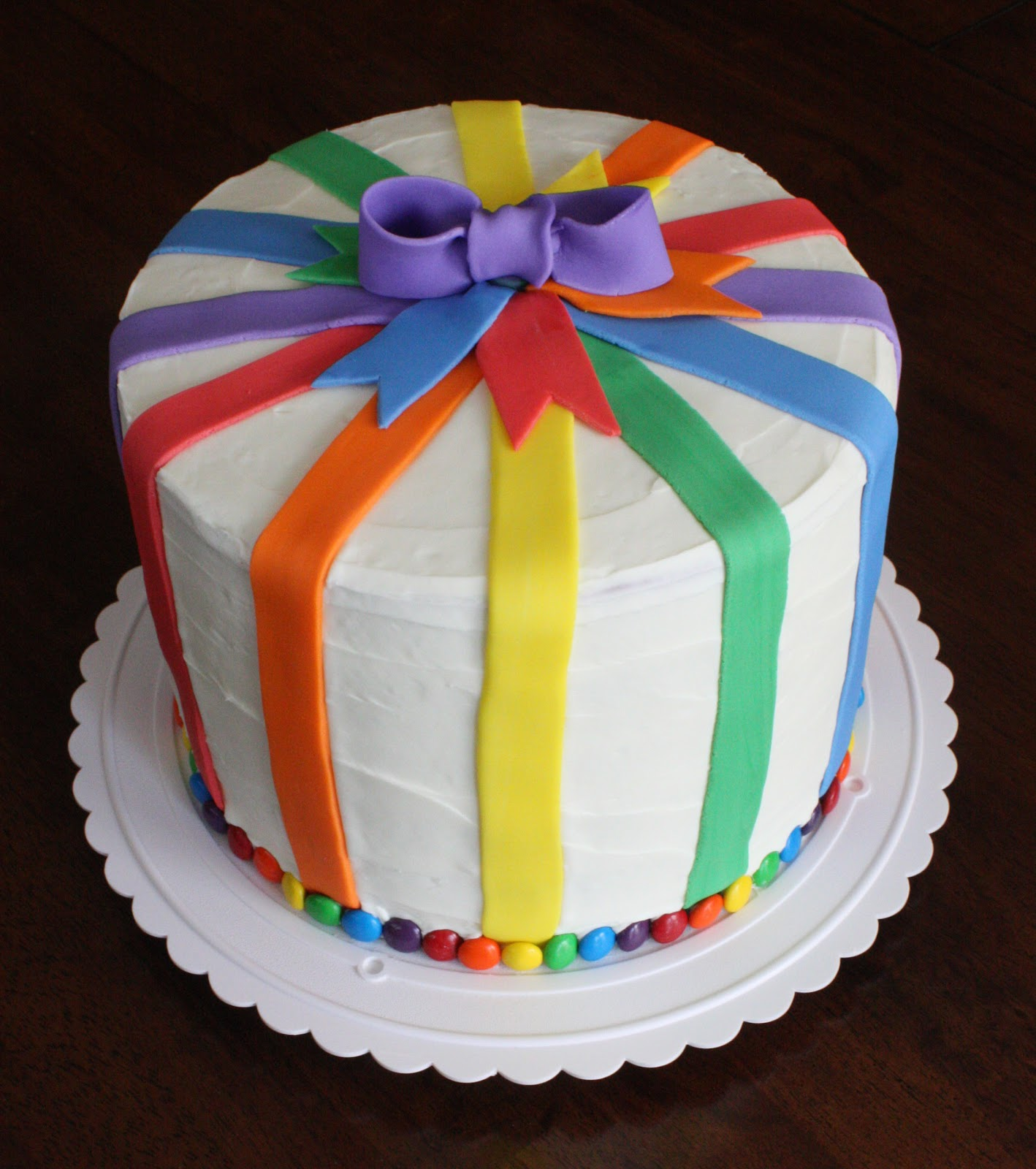 Straight to Cake: Rainbow Cake