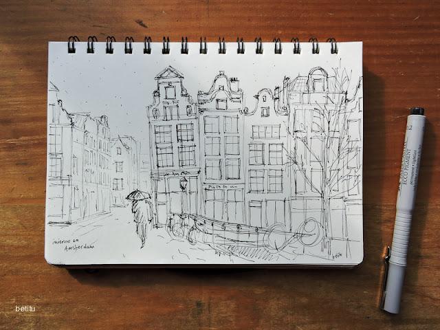 Winter in Amsterdam by betitu