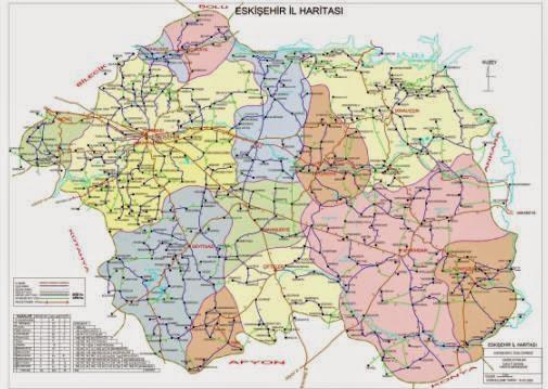 Eski�ehir Siyasi Haritas�