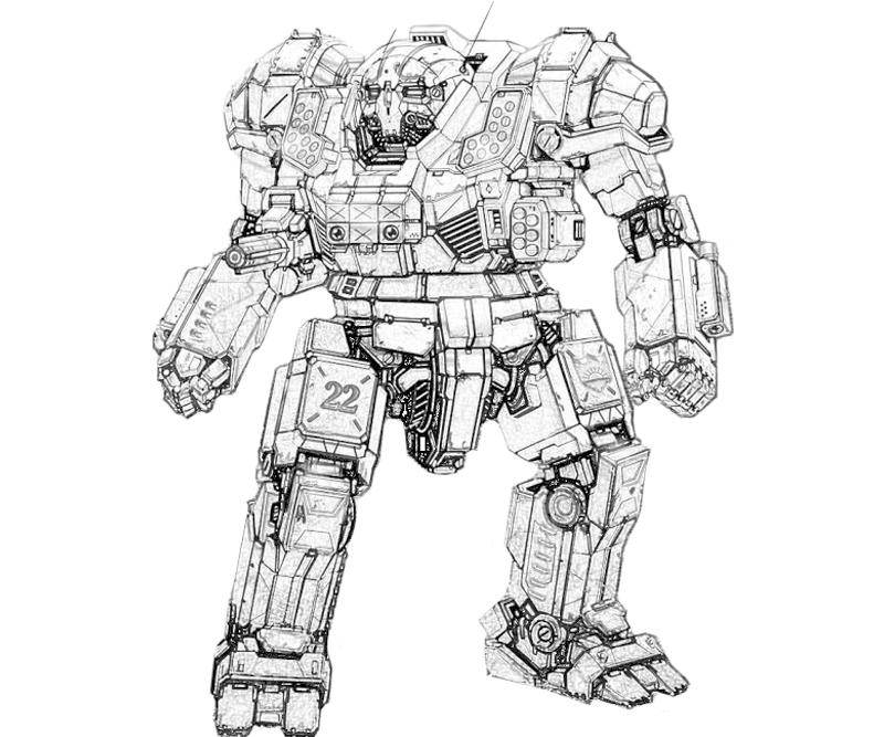 printable-mechwarrior-online-atlas-actions-coloring-pages