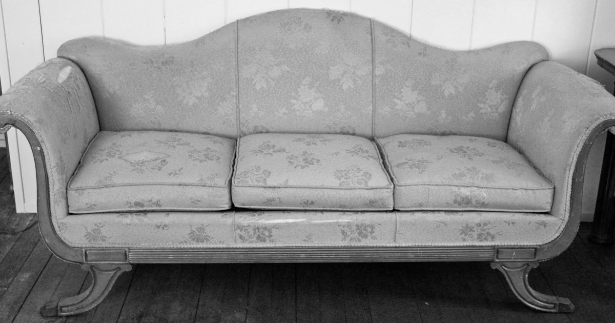 In The Fields A Duncan Phyfe Sofa