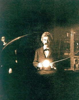 Tesla's Friend Mark Twain