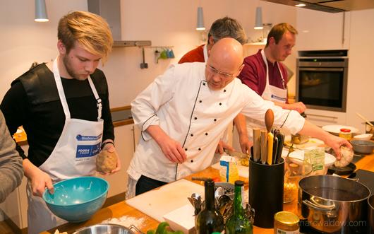 Udo Einenkel bei Kochmal in Berlin