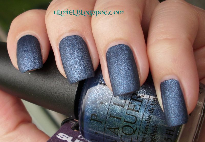 Did someone say nail polish?: O.P.I. Russian Navy Suede