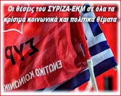 Οι θέσεις του ΣΥΡΙΖΑ
