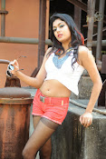 Akshida Hot Photos from Yuddam Movie Song shooting spot-thumbnail-2