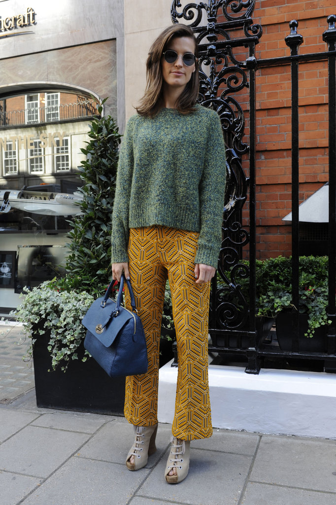 Milan Street Style Hanneli Mustaparta 39 S Retro Knit The