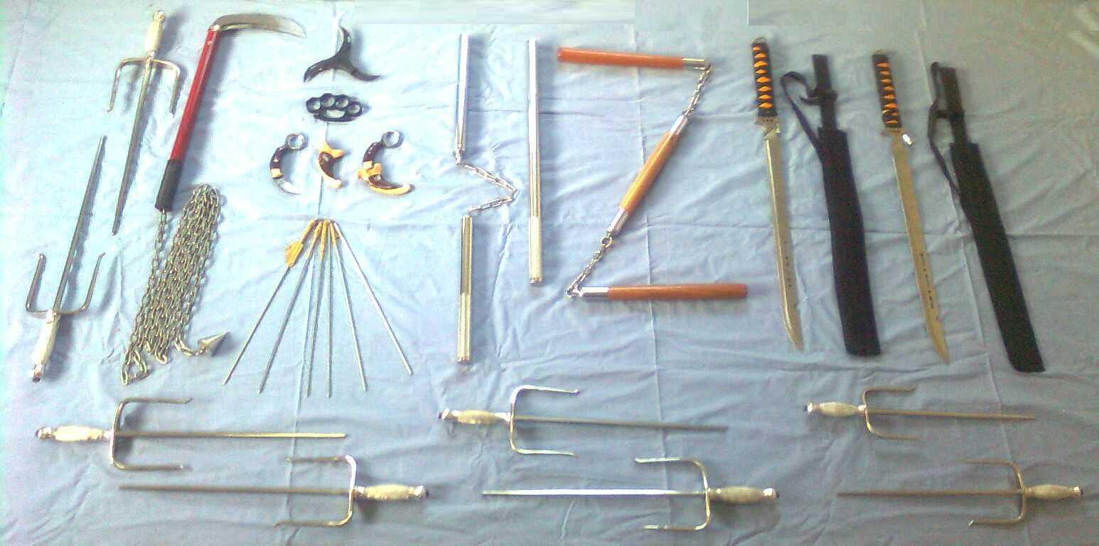фото ниндзя с ножами