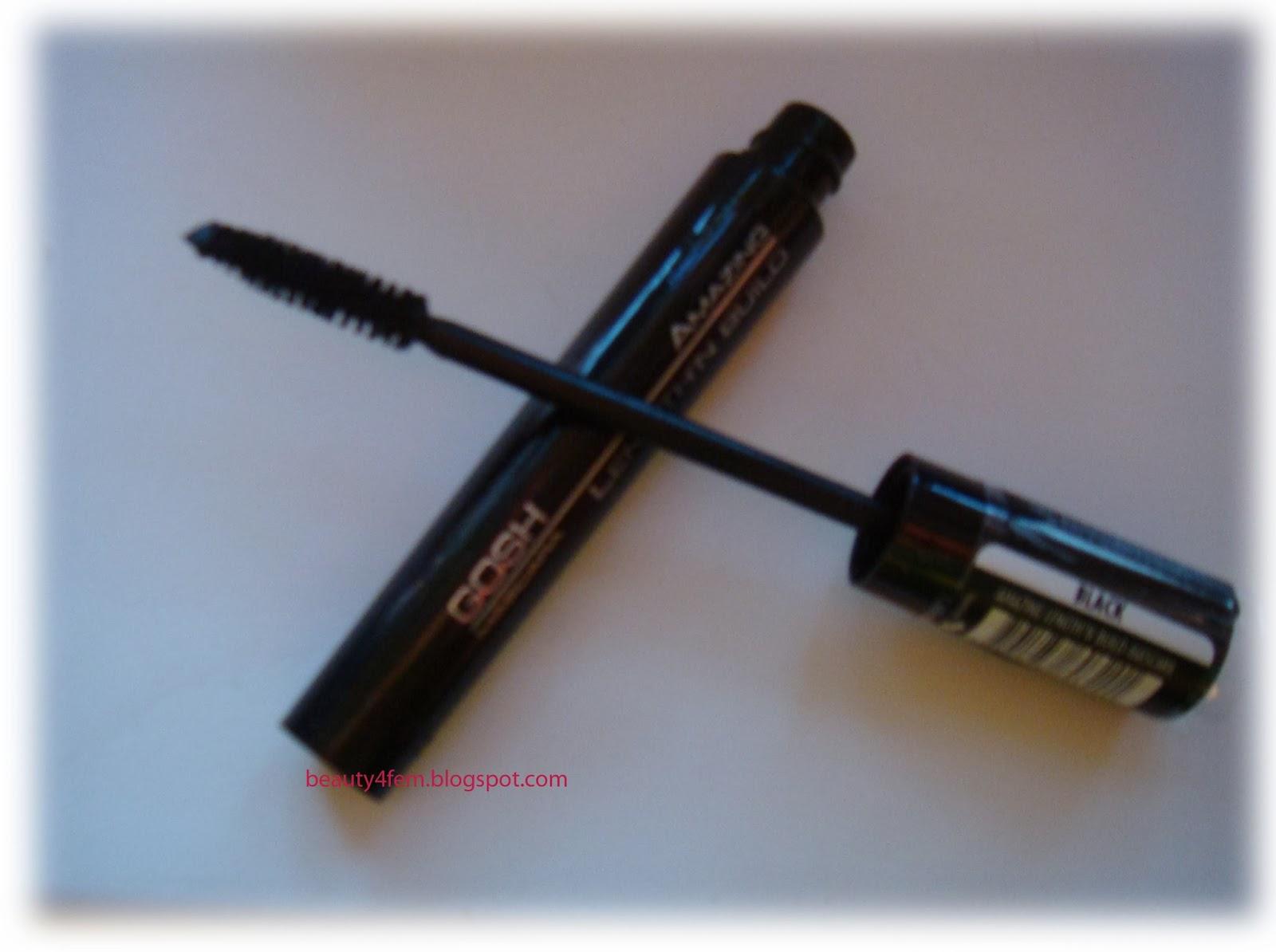 Gosh amazing length n build mascara тушь для ресниц длина разделение black