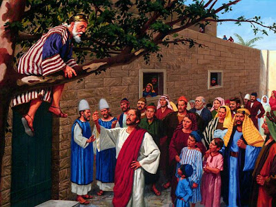 Zakheus: Yesus Mencariku