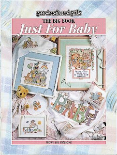 Big Book Just for Baby - Cross Stitch Pattern
