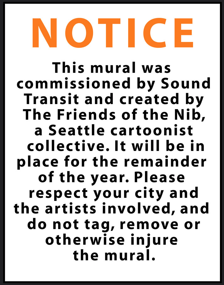 Image: Notice Sign, Please do not remove art