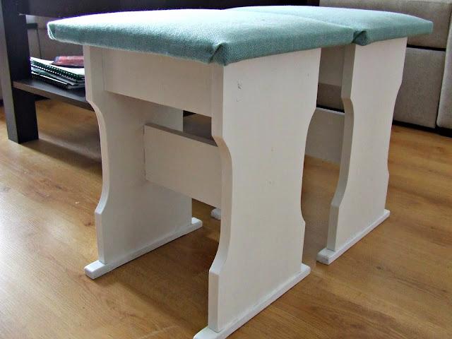 pomysł na odnowienie starych krzeseł