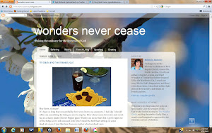 Feel free to visit Wonders Never Cease, my blog on faith, family, and the wonders of life