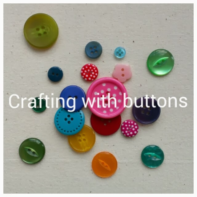 Miss Chaela Boo - Five ideas for crafting with buttons