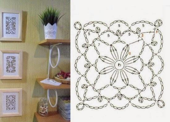 Patrones crochet for Decoracion del hogar con crochet