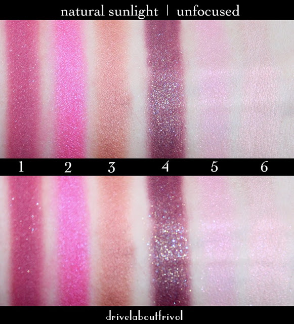 Fyrinnae eyeshadow swatches 1. Chaotic Evil 2. Superstar 3. Kurisumasu!  4. Wake Not The Dead* 5. Cupcake Frosting 6. Crimson Ghost