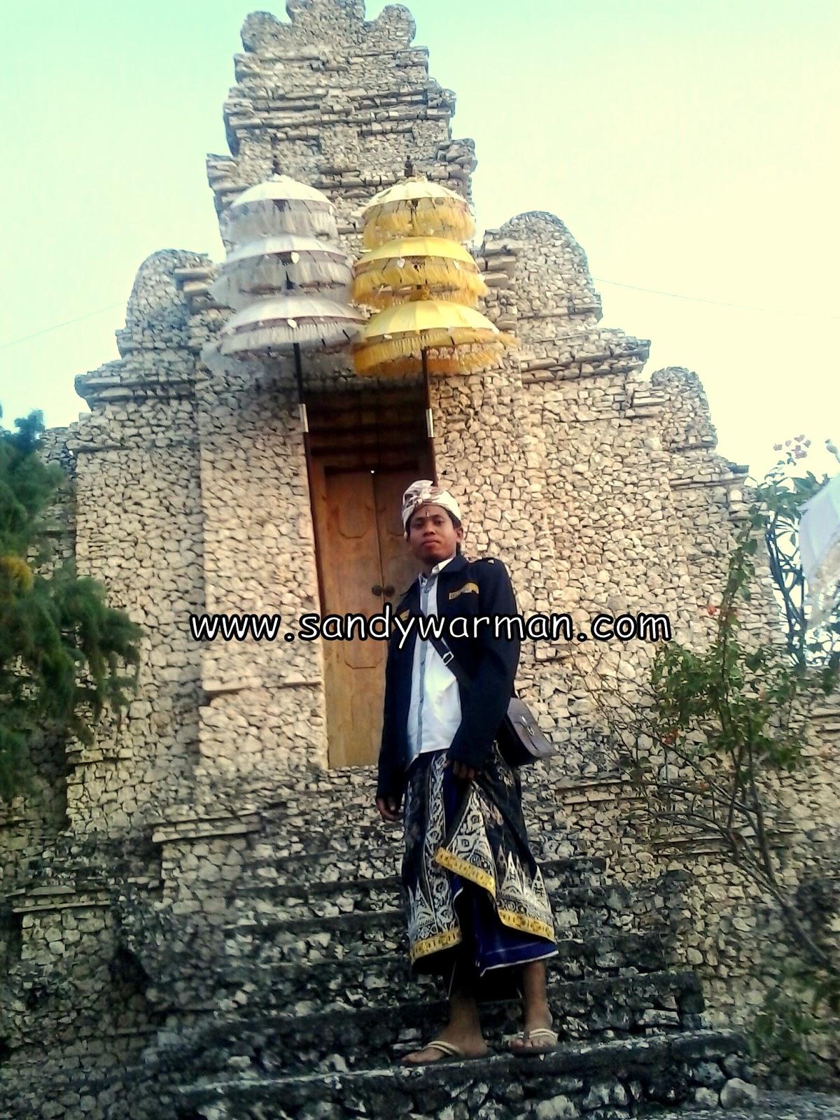 Pura Utama, Linggih Hyang Pasupati di Pulau Menjangan