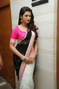 Shaddha das glamorous photos in saree-thumbnail-20