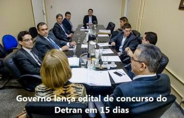Governo de Mato Grosso lança edital de concurso do Detran em 15 dias.