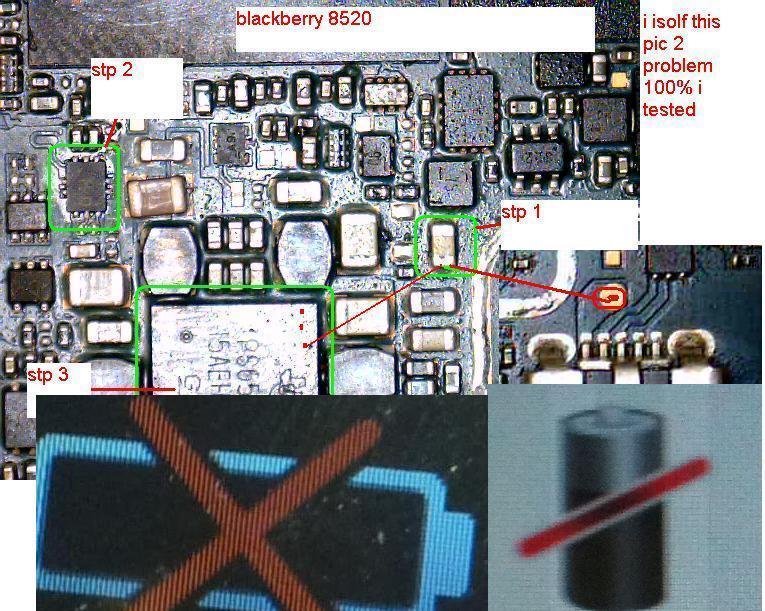 Cross Solution 8520 Battery
