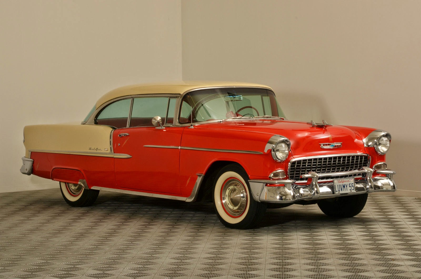all american classic cars 1955 chevrolet bel air 2 door