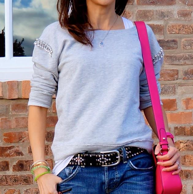 Josephina_Collection, Jewel_Embellished_Zara_Sweatshirt