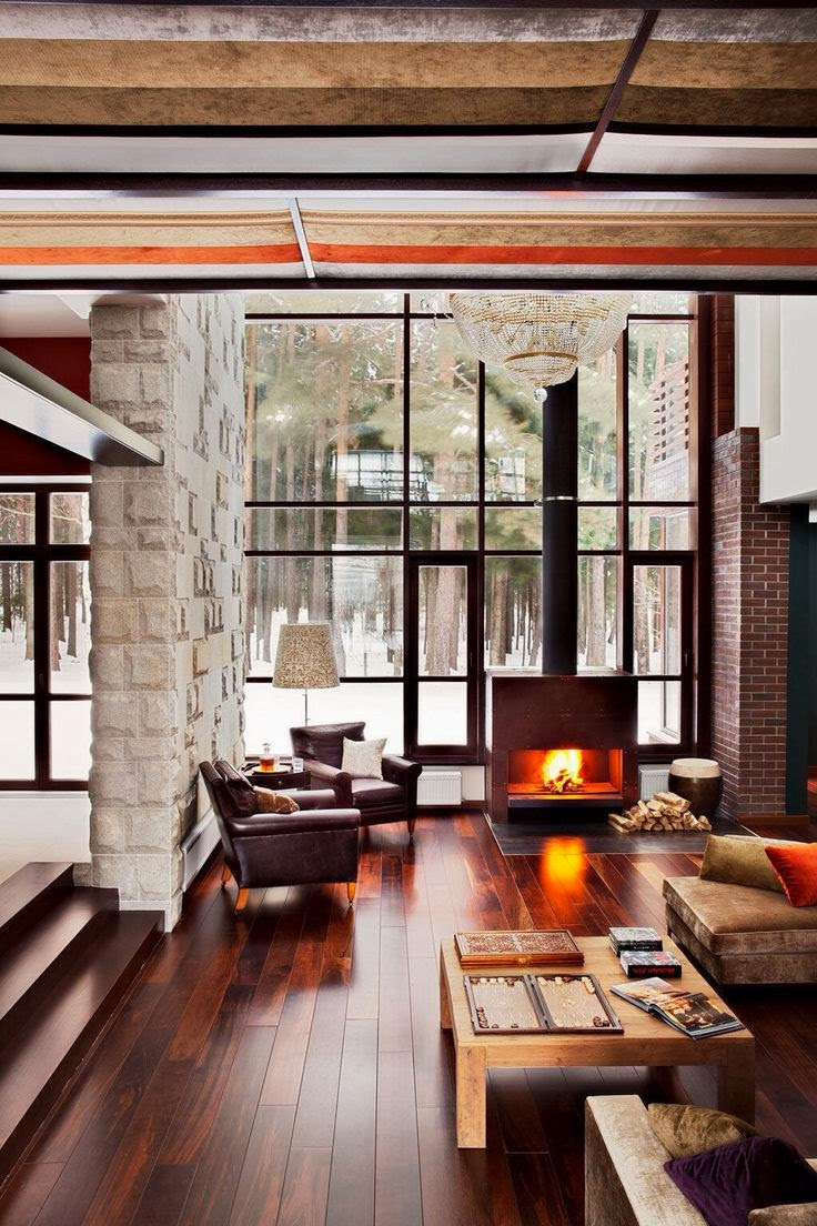 Wood Stoves: Think Beyond Cabin in the Woods - Wise Design: Time For A Warm Up: Wood Stoves Vs. Fireplaces