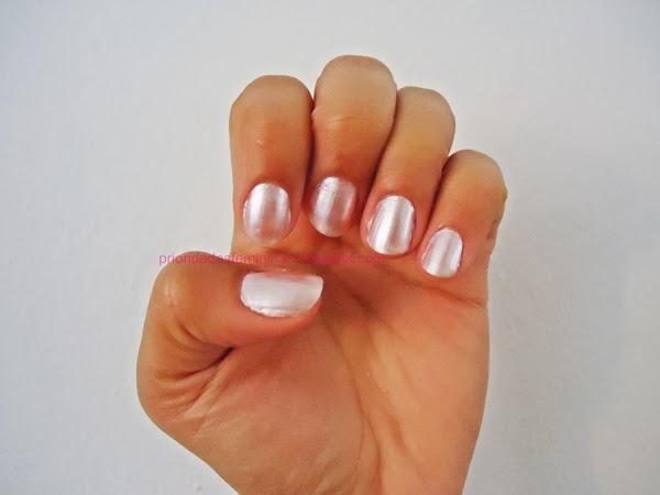 nail art clara, rosa claro