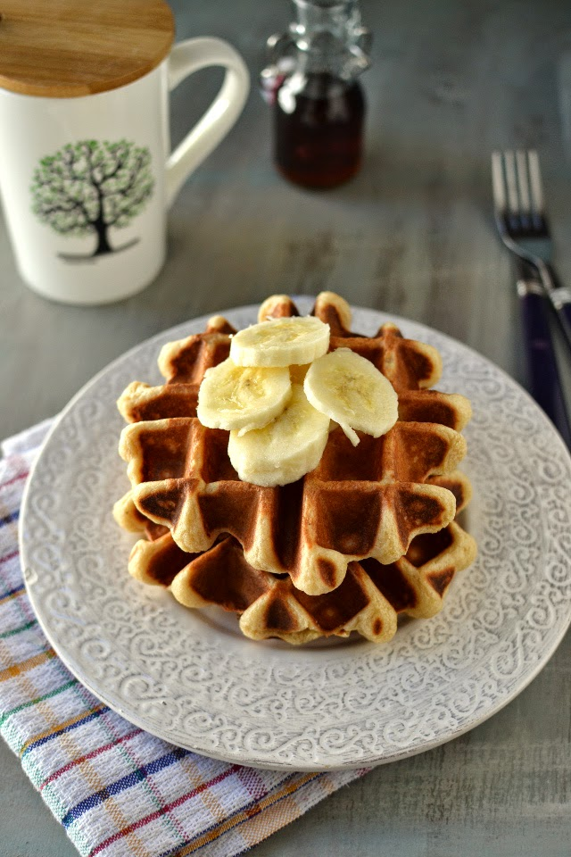 Belgium Waffles (Vegan recipe)