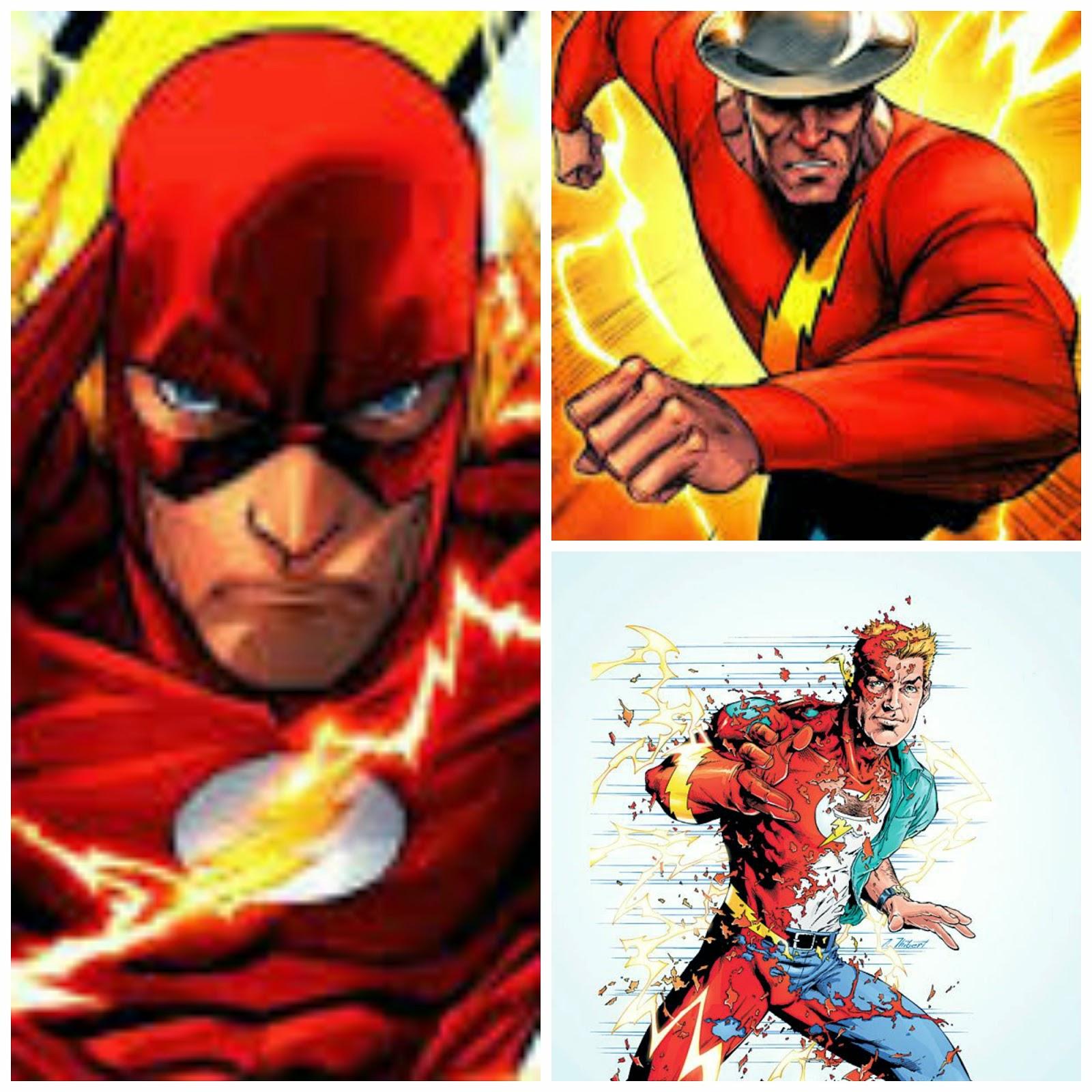 Jay Garrick, Barry Allen y Wally West. The Flash