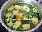 Supa de pui cu galuste preparare reteta