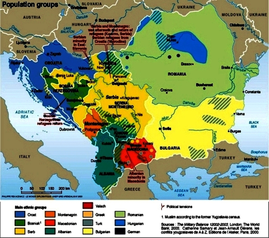 Ethnic Groups of Europe - 6B Geography