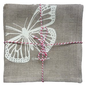 Thea and Sami Butterfly Napkins