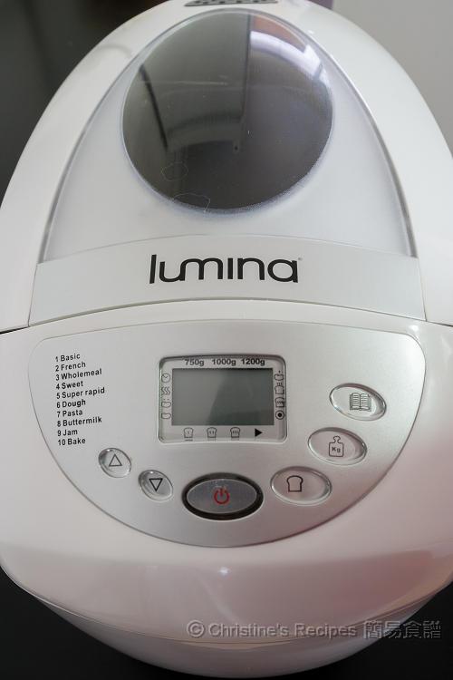 Lumina - Aldi 麵包機 Breadmaker01