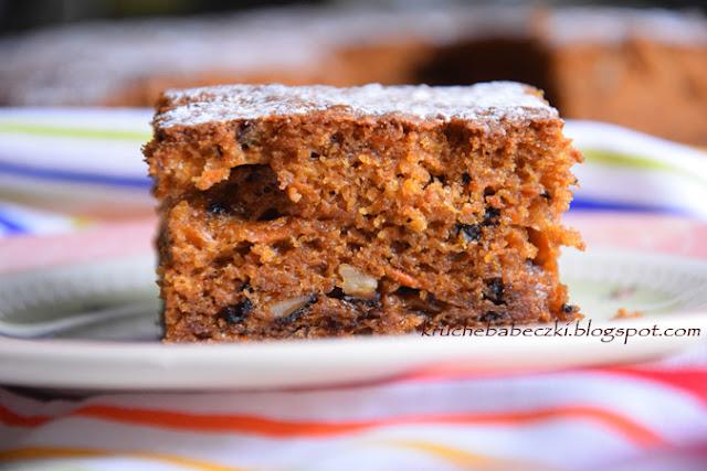 Ciasto marchewkowe - przepyszne :))