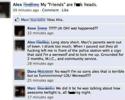 Top 10 Funny Facebook Fail Pictures
