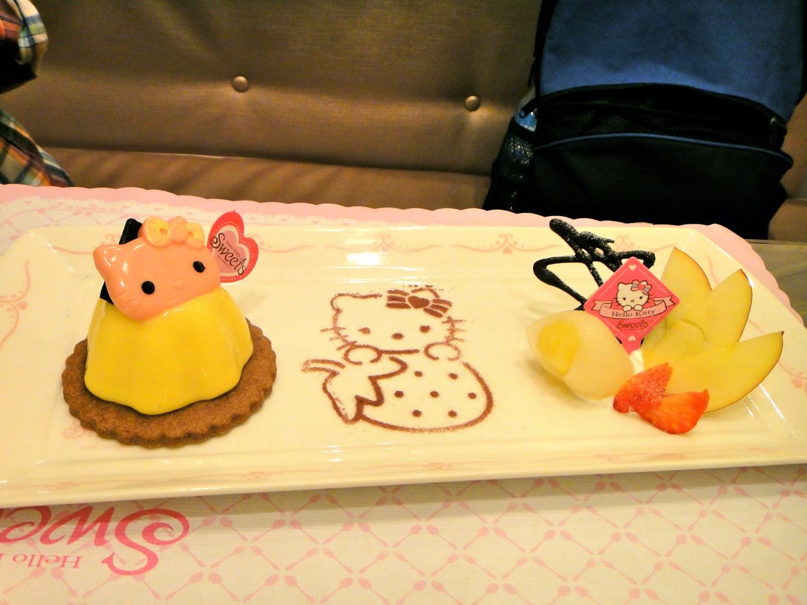 Hello Kitty Mango Pudding Set Taiwan