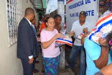 Distribuye alimentos para 36,000 personas en la capital, Sur y Santiago