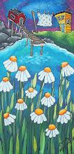 Aunt Bert's Daisy Garden