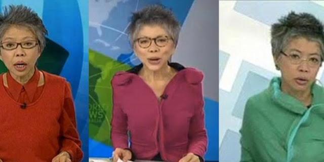 Ini Dia, Lee Lin Chin, Penyiar Berita yang Paling Modis Dah