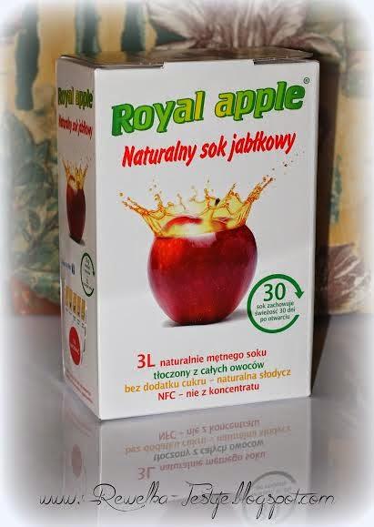 Nowa współpraca - naturalny sok jabłkowy od Royal Apple