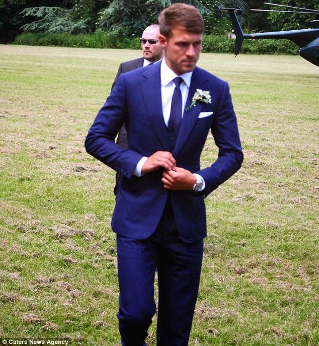 Arsenal Star Aaron Ramsey Wedding