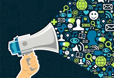 IMAGEM: O poder de propagação é grande em um blog